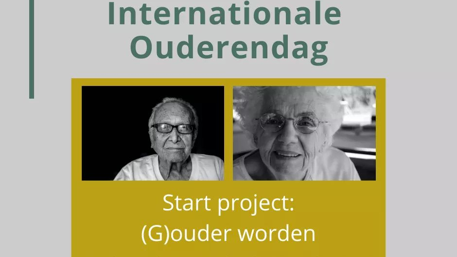 Internationale ouderendag - 1 oktober 2020